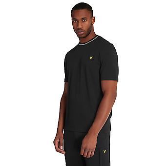 Lyle & Scott Tipped T-Shirt - Jet Black