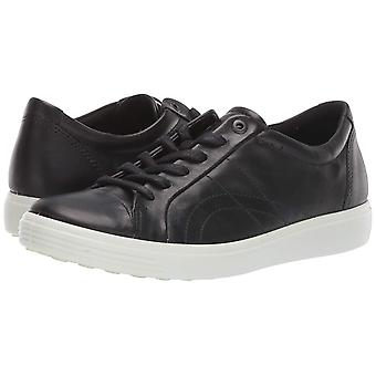 ECCO Women's Shoes Leather Low Top Lace Up Fashion Sneakers