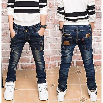 Boy's Fashionable Jeans For Party, Outside Wear