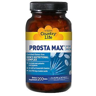 Country Life Prosta-Max Per Uomini NF, 200 Schede