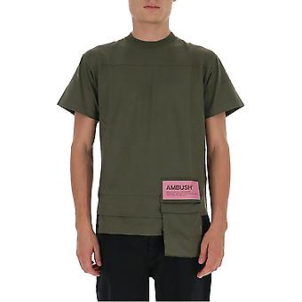 Imboscata Bmaa004f20jer0015900 Uomini's T-shirt in cotone verde