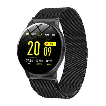 Lige 2020 Fashion Sports Smartwatch Fitness Sport Activity Tracker Smartphone Watch iOS Android - Black