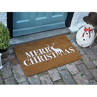 Smart Solar Merry Stagmas Decoir Mat 75cm x 45cm 2555001