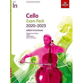Cello Examenpakket 2020-2023, Initial Grade: Score & Part, met audio (ABRSM Examenstukken)