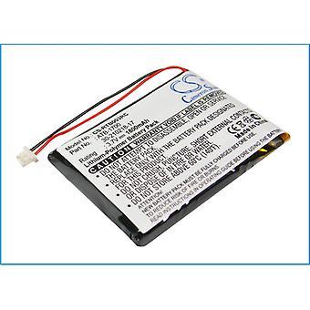 Távirányító akkumulátor RTI 30-210218-17 ATB-1700 T3V T3-V T3-V+ CS-RTB003RC