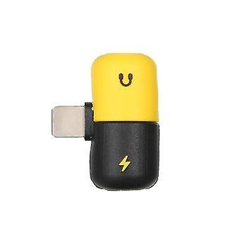Mini Lightning Splitter Adapter Audio Converter Adapter