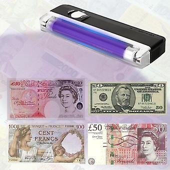 Money Counter Ticket Cash Detector Led Flashlight