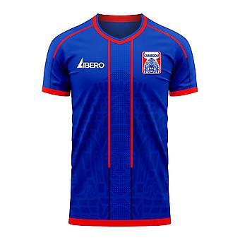 كمبوديا 2020-2021 مفهوم المنزل لكرة القدم كيت (Libero)