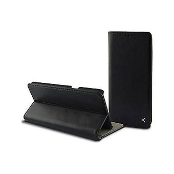 Folio Mobile Phone Case Huawei Mate 10 Lite KSIX Slim Black