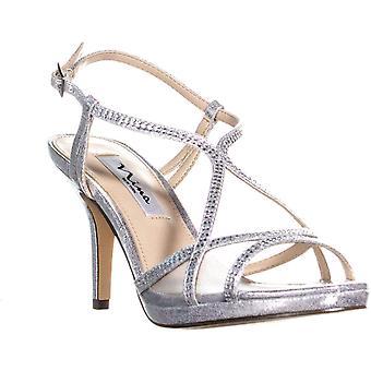 Nina Womens Blossom Open Toe Casual Strappy Sandals