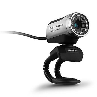 Aw615 1080p Webcam Built-in Microphone With Usb 2.0 For  Laptop Live Broadcast