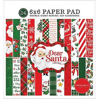 Carta Bella Lieber Santa 6 x 6 Zoll Papierpad