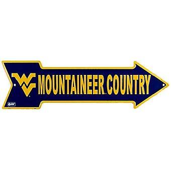 West Virginia Mountaineers NCAA Mountaineers Country Arrow Sign