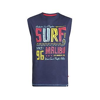 D555 'Wallace' Malibu Print Sleeveless T-Shirt