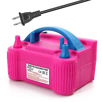 Electric Two Nozzle Air Blower Balloon Inflator Pump, Fast, Portable,