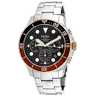 Fossil Men's FB-03 Black Dial Watch - FS5768