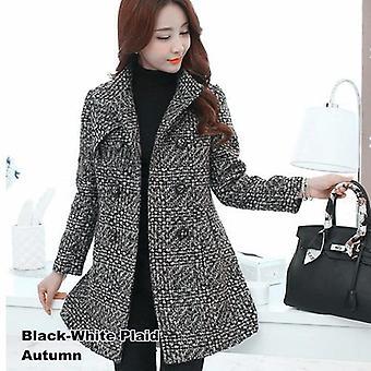 New Women's Wool Blends Coat