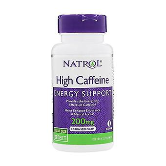 High Caffeine, 200mg 100 tablets