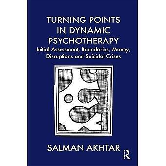 Vendepunkter i dynamisk psykoterapi: Innledende vurdering, grenser, penger, forstyrrelser og selvmordskriser