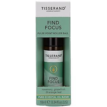 Tisserand Aromatherapy Find Focus Pulse Point Roller Ball 10ml