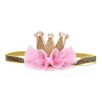 Newborn Crown Headband Gold Princess Crown
