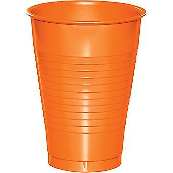12Cup Pl 12/20Ct Arancione affondato