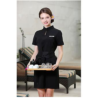 Spa Uniform Health Club Elegant Workwear Dress
