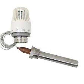 Attuatore termostatico della testa della valvola del radiatore con sensore di temperatura M30* 1,5 mm