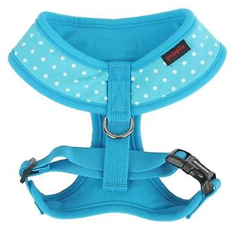 Puppia Sky Blue Dotty A-Harness (Dogs , Collars, Leads and Harnesses , Harnesses)