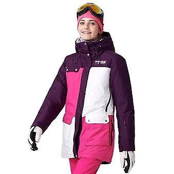 Women Snowboard Jackets For  Warm Mid-thigh Outdoor Sports