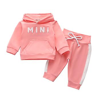Infant Baby Tracksuit Hooded Clothes Set