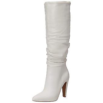 Steve Madden kvinners Carrie spiss tå kneet High Fashion lærstøvler