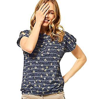 Cecil 316209 T-Shirt, Deep Blue, XL Woman