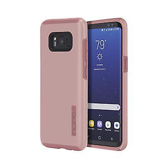 Incipio Dualpro -kotelo Samsung Galaxy S8 Plus -laitteelle - Iridescent Rose Gold