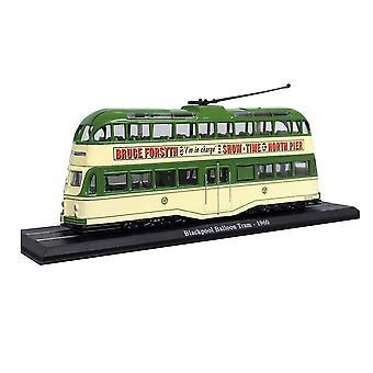 Blackpool ballong spårvagn (1960) Diecast modell spårvagn