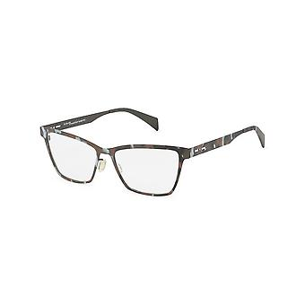 Italia Independent - Accessories - Glasses - 5028A-093-000 - Women - saddlebrown,lightgray