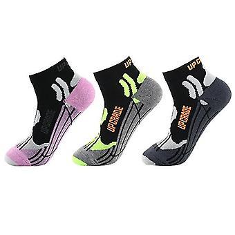Mix kleurrijke coolmax running katoen compressie sokken outdoor fietsen ademende basketbal ski sokken thermische sokken
