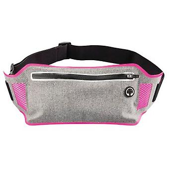 Hama «Running» Sports Hip Pouch pour Smartphones, gris / rose