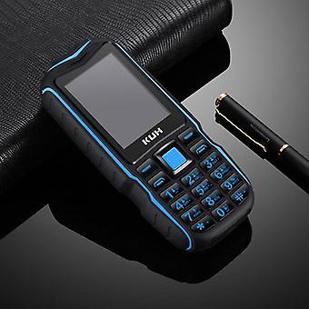 Cartes Sim doubles &Lampe de poche Robuste Téléphone mobile 13800mah Power Bank Big Voice