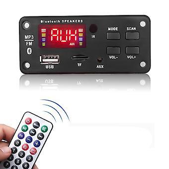 Ενισχυτής 12v Mp3 Wma ασύρματο Bluetooth 5.0 πίνακας αποκωδικοποιητών