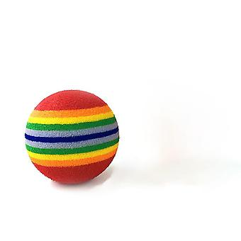 Rainbow Ball Toy For Cat