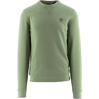Lyle und Scott Green Rundhals-Sweatshirt
