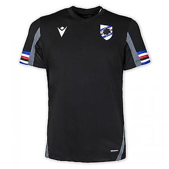 2021-2022 قميص سامبدوريا التدريبي (أسود)