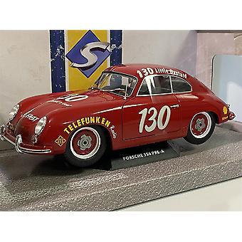 Porsche 356 Pre A James Dean Tribute 1953 Red 1:18 Solido 1802804