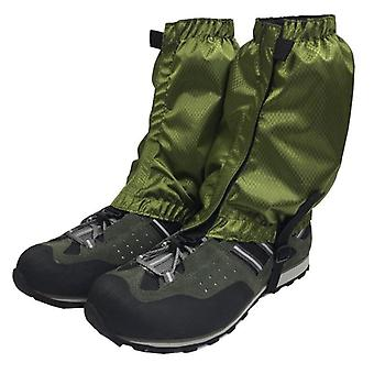 1 Pair waterproof outdoor hiking walking climbing hunting snow legging gaiters ski gaiters shoes cover anti-fall cloth cover