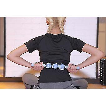 Bâton de massage multicolore Muscle Roller et Yoga Pvc Fascia Stick (violet)