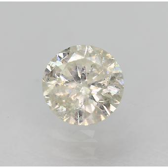 Sertifioitu 0,49 karat I SI2 pyöreä brilliant parannettu luonnollinen löysä timantti 4,99mm