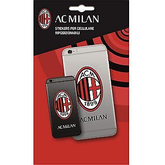 Autocollant de téléphone d'AC Milan