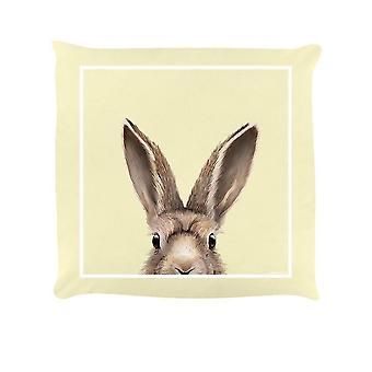 Chair sofa cushions hare filled cushion