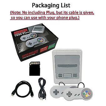1600 Spiele 64 Bit Arcade 4k Mini HD TV Retro Videospiel Konsole Controller Handheld Klassisch für Snes